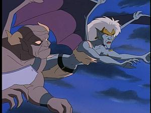Disney Gargoyles - City of Stone part 3 - demona and second