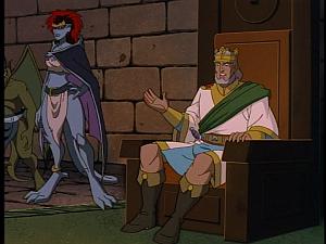 Disney Gargoyles - City of Stone part 3 - king macbeth