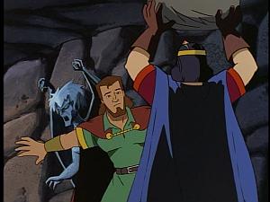 Disney Gargoyles - City of Stone part 3 - macbeth saves demona