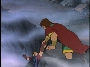 Disney Gargoyles - City of Stone part 3 - macbeth saves duncan
