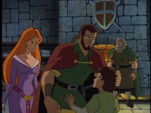 Disney Gargoyles - City of Stone part 3 - macbeth, son, wife