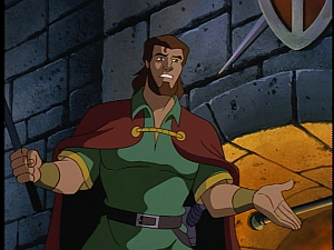 Disney Gargoyles - City of Stone part 3 - macbeth surprised about duncan