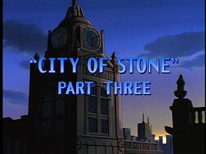 Disney Gargoyles - City of Stone part 3 - title