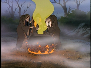 Disney Gargoyles - City of Stone part 3 - weird sisters crones