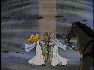 Disney Gargoyles - City of Stone part 3 - weird sisters spell