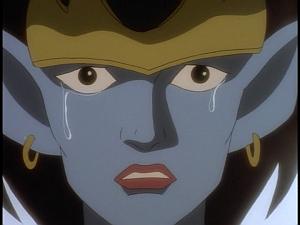 Disney Gargoyles - City of Stone part 4 - demona cries, gives alone password