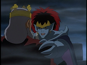 Disney Gargoyles - City of Stone part 4 - demona excited with macbeth