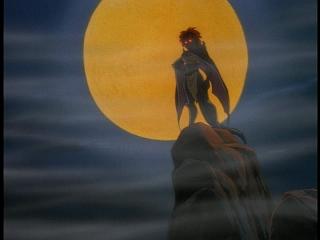 Disney Gargoyles - City of Stone part 4 - demona in front of moon