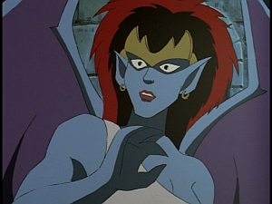 Disney Gargoyles - City of Stone part 4 - demona surprised