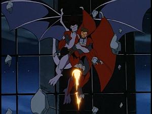 Disney Gargoyles - City of Stone part 4 - goliath catches xanatos
