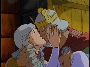 Disney Gargoyles - City of Stone part 4 - gruoch and mabeth kiss