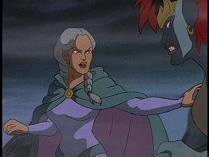 Disney Gargoyles - City of Stone part 4 - gruoch yells at demona