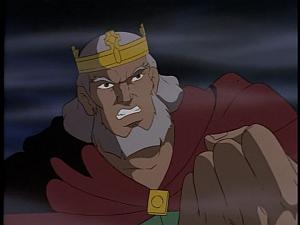 Disney Gargoyles - City of Stone part 4 - king macbeth mad at demona