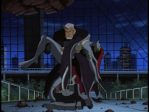 Disney Gargoyles - City of Stone part 4 - macbeth about to kill demona