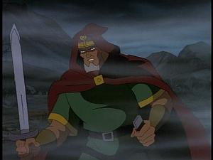Disney Gargoyles - City of Stone part 4 - macbeth king with sword