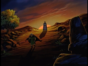 Disney Gargoyles - City of Stone part 4 - macbeth leaves gruoch