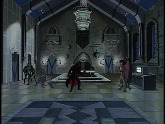 Disney Gargoyles - City of Stone part 4 - macbeth vs demona in great hall