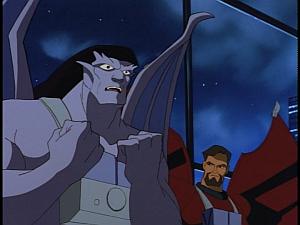 Disney Gargoyles - City of Stone part 4 - xanatos watches goliath
