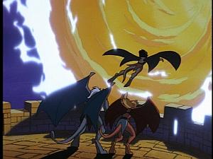 Disney Gargoyles - High Noon - coldstone portal