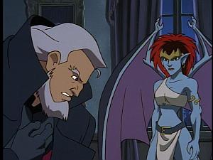Disney Gargoyles - High Noon - macbeth feels demona's pain
