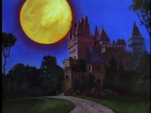 Disney Gargoyles - High Noon - macbeth's mansion
