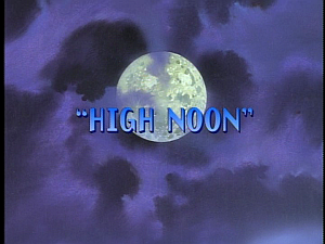 Disney Gargoyles - High Noon - title