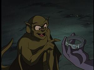 Disney Gargoyles - Double Jeopardy - clan finds gen u tech band