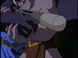 Disney Gargoyles - Double Jeopardy - flare gun