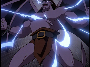 Disney Gargoyles - Double Jeopardy - goliath zapped