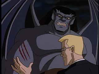 Disney Gargoyles - Double Jeopardy - owen treats goliath's wounds