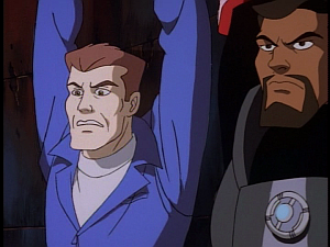 Disney Gargoyles - Double Jeopardy - sevarius and xanatos face death