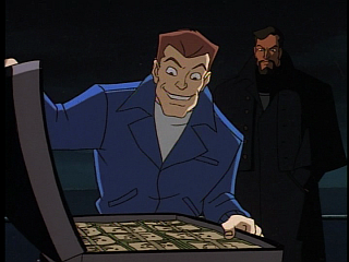 Disney Gargoyles - Double Jeopardy - sevarius thrilled with money, xanatos watches
