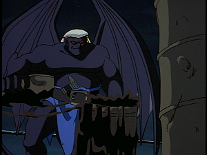Disney Gargoyles - Double Jeopardy - thailog and oil barrel