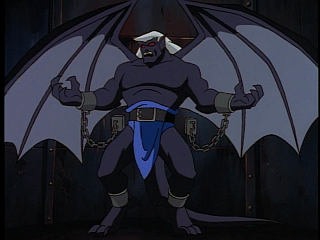 Disney Gargoyles - Double Jeopardy - thailog in chains