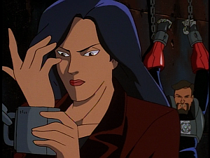 Disney Gargoyles - Double Jeopardy - xanatos comments on elisa