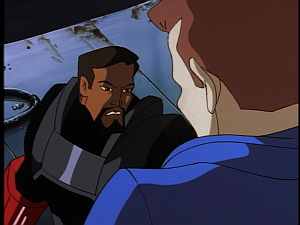 Disney Gargoyles - Double Jeopardy - xanatos confronts sevarius