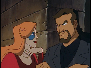 Disney Gargoyles - Outfoxed - fox and david xanatos