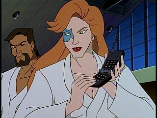 Disney Gargoyles - Outfoxed - fox takes phone
