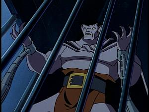 Disney Gargoyles - Outfoxed - goliath in chains