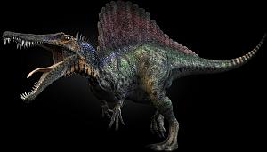 Disney Gargoyles - Outfoxed - spinosaurus