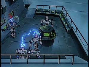 Disney Gargoyles - Outfoxed - virus spreads through cybots