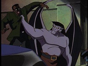 Disney Gargoyles - Protection - goliath vs glasses