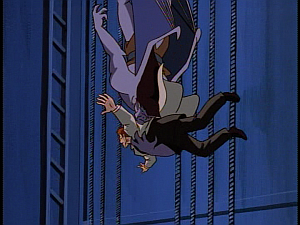 Disney Gargoyles - Revelations - goliath catches matt