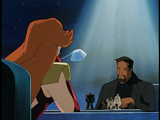Disney Gargoyles - Upgrade - fox and david play chess