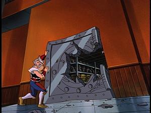 Disney Gargoyles - Upgrade - wolf vault door