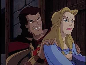 Disney Gargoyles - Avalon part 1 - finella gets sweet talked