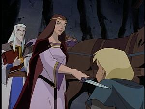 Disney Gargoyles - Avalon part 1 - katherine makes tom guardian