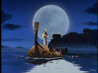 Disney Gargoyles - Avalon part 1 - magus in skiff