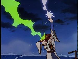Disney Gargoyles - Avalon part 1 - magus turns spell back on sisters