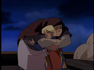 Disney Gargoyles - Avalon part 1 - mary says goodbye to tom
